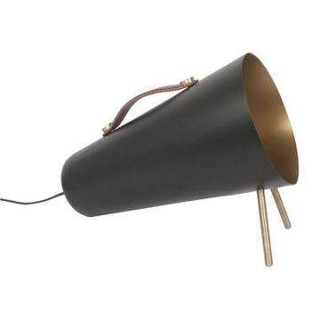 Ren-wil Floor Lamp in Black/brass