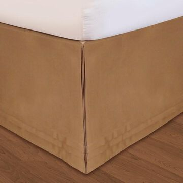 Veratex Huys Adjustable Matte Satin Bed Skirt