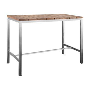 Whiteline Stone Outdoor Bar Table