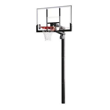 """Spalding NBA 54"""" Acrylic In-Ground Basketball Hoop System"""