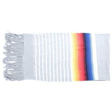 Sacai Grey Cotton Scarves