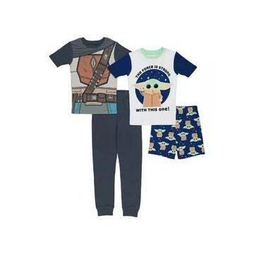 Star Wars Boys' Boys 4-20 Cotton Pajama Set - -