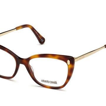 Roberto Cavalli RC 5110 052 Womenas Glasses Tortoiseshell Size 52 - Free Lenses - HSA/FSA Insurance - Blue Light Block Available
