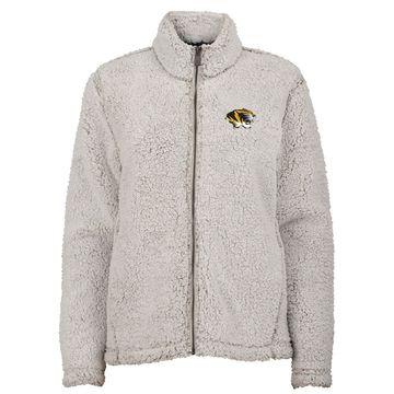 Women's NCAA Missouri Tigers Full-Zip Sherpa Jacket