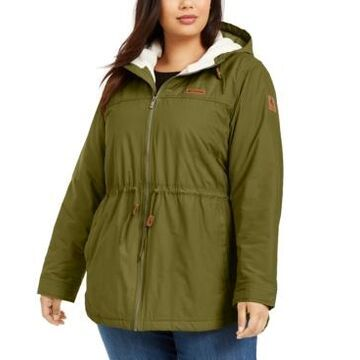 Columbia Plus Size Chatfield Hill Fleece-Lined Jacket