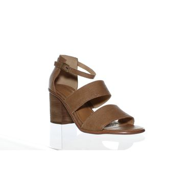 Corso Como Womens Sus Brown Sandals Size 10
