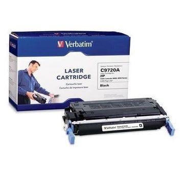 Verbatim 94956 Black Toner Cartridge Replaces HP C9720A
