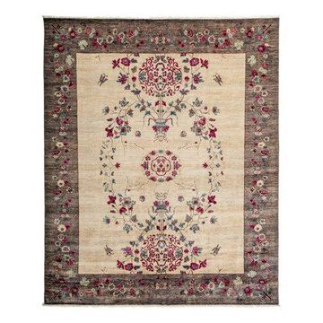 Solo Rugs One-of-a-kind Suzani Hand-knotted Runner Rug 2' 9