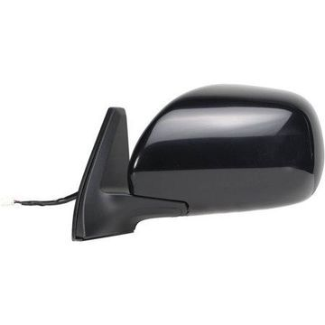 70106T - Fit System Driver Side Mirror for 03-09 Toyota 4runner, black, foldaway, Heated Power