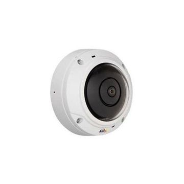AXIS M3037-PVE Network Camera - Color, Monochrome - MPEG-4 AVC, H.264, Motion JPEG - 2592 x 1944 - 1.27 mm - RGB CMOS - Cable - Dome