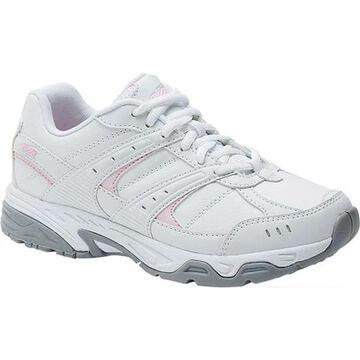 Avia Women's Avi-Verge Sneaker Bright White/Pink/Silver/Steel