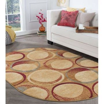 Bliss Rugs Adalyn Contemporary Area Rug