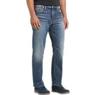 Silver Jeans Co. Grayson Medium Blue Wash Classic Fit Jeans