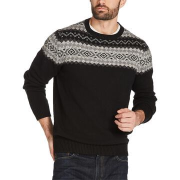 Weatherproof Vintage Mens Knit Crew Neck Pullover Sweater