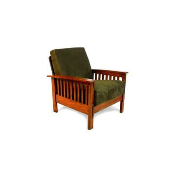 Mission Microfiber Chair Olive - Inspire Q