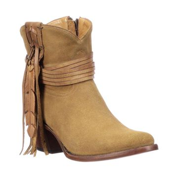 Lucchese Short Style Fringe Bootie