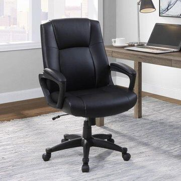 Mainstays Big & Comfortable Managers Chair, Supports up to 350lbs, Multiple Colors