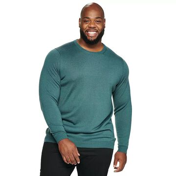 Big & Tall Apt. 9 Merino Crewneck Sweater, Men's, Size: 2XB, Med Blue