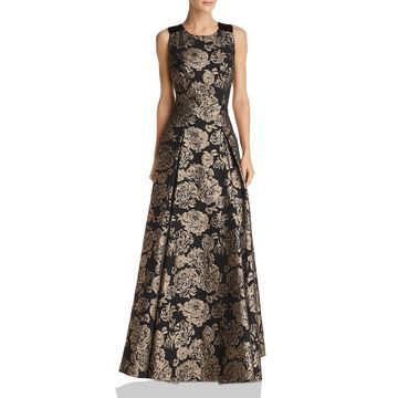 Eliza J Womens Formal Embroidered Evening Dress