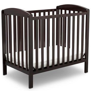 Delta Children Mini Convertible Crib with Mattress