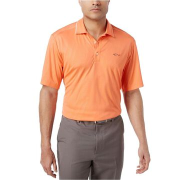 Greg Norman Mens Embossed Rugby Polo Shirt