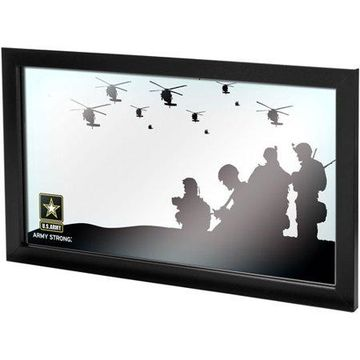 Trademark Gameroom U.S. Army Framed Logo Mirror