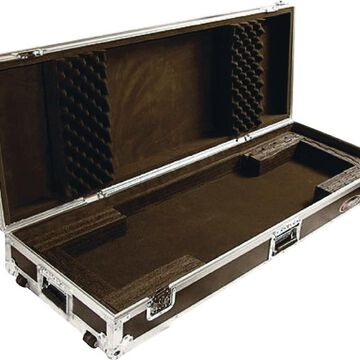 Flight Zone: Keyboard case for 76 note keyboards with wheels