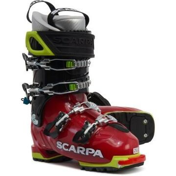 Made in Italy Freedom SL 120 Freeride Alpine Touring Ski Boots (For Women) - SCARLET/WHITE (22 )