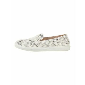 Leather Sneakers White