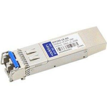 AddOn Cisco SFP-10G-LR Compatible TAA Compliant 10GBase-LR SFP+ Transceiver (SMF, 1310nm, 10km, LC, DOM) - 100% compatible and guaranteed to work