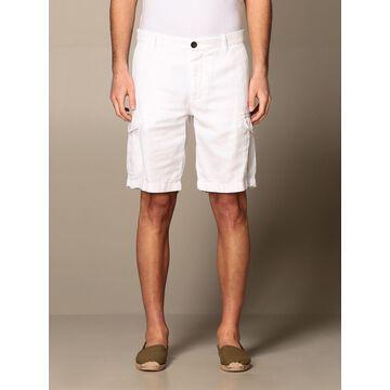 Eleventy Bermuda in cotton and linen