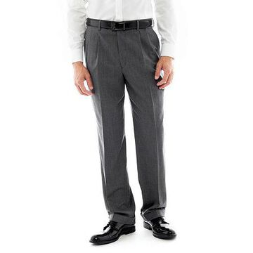 Stafford Executive Super 100 Pleated Suit Pants - Classic
