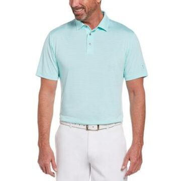 Pga Tour Men's Single Feeder Striped Polo Shirt