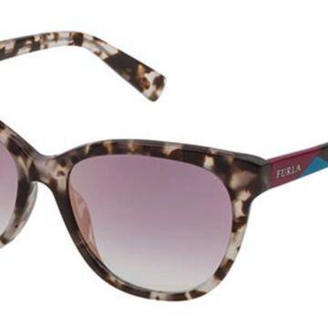 Furla SFU137 M65G Womenas Sunglasses Tortoise Size 54