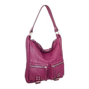 Nino Bossi Women's Amelia Shoulder Bag Plum - US Women's One Size (Size None)