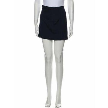 Vintage Mini Skirt Wool