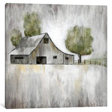 iCanvas ''Weathered Barn'' by Nan