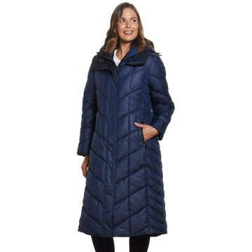 Women's Gallery Hood Quilted Maxi Puffer Coat