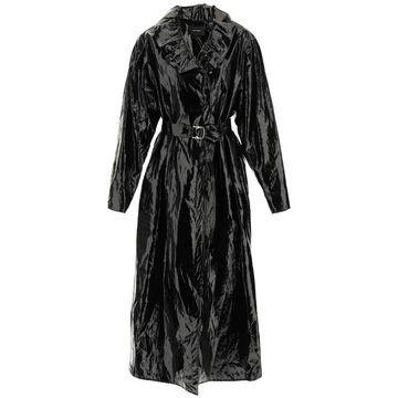 Isabel marant epanima coated linen trench coat