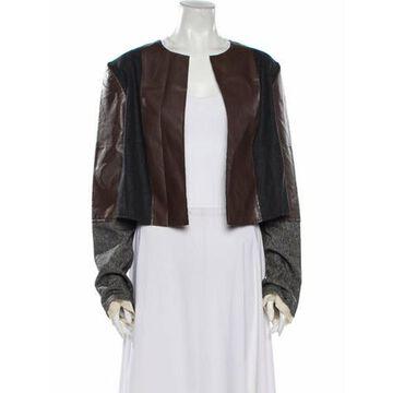 Alysi Printed Jacket w/ Tags Brown Alysi Printed Jacket w/ Tags