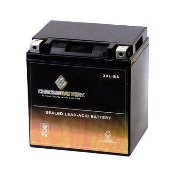 Chrome Battery Ytx30L-Bs Utv Battery for Arctic Cat Wildcat 1000, X, 4, Ltd Year (16-17)