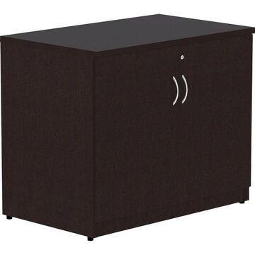 Lorell Essentials Laminate 2-door Storage Cabinet