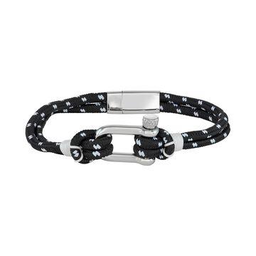 Simply Vera Vera Wang Men's Black & White Nautical Cord Bracelet