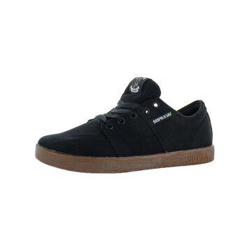 Supra Mens Stacks Skate Shoes Athletic Low-Top