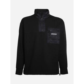 Calvin Klein Jeans Milano Jersey Sweatshirt With Logo Print
