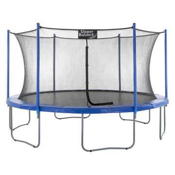 15' Trampoline and Enclosure Set With the Easy Assemble Feature