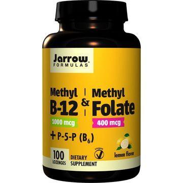 Methyl B-12 & Methyl Folate Jarrow Formulas 100 Lozenge