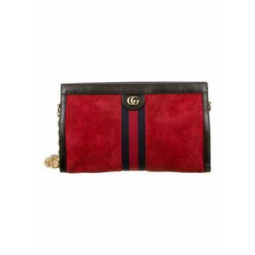 Ophidia Medium Crossbody Bag Red
