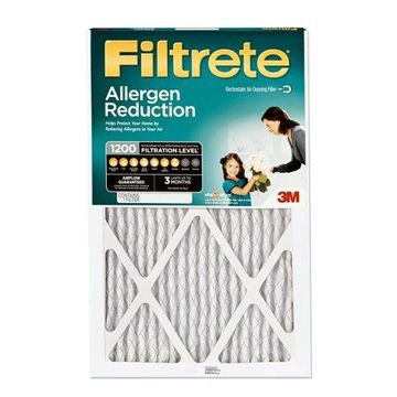 Filtrete 20x25x1, Allergen Reduction HVAC Furnace Air Filter, 1200 MPR, 1 Filter