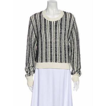 Striped Scoop Neck Sweater